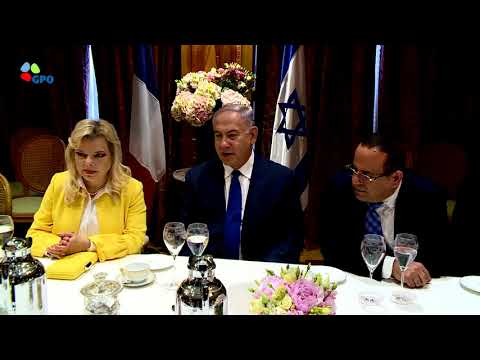 PM Netanyahu Meets Leaders of the French Jewish Community