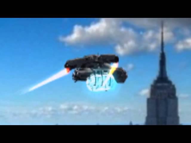 UFO sighting over New York