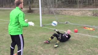 Målvaktsträning fotboll