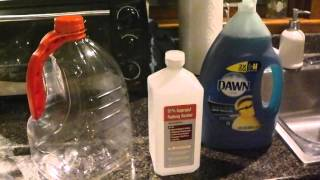Homemade Ice Snow Melt DIY for Stairs Driveways