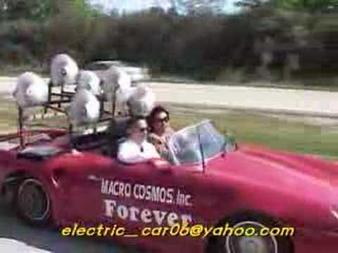 Forever Electric car ( by wind force generator)