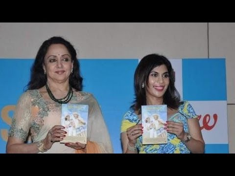 Hema Malini Launches 'sexy At Sixty' Book video