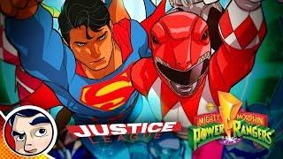 Justice League VS Power Rangers - Full Story | Comicstorian