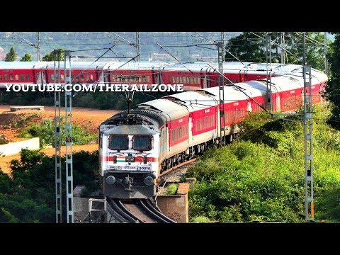 Bangalore RAJDHANI Express turns 25 | Indian Railways thumbnail