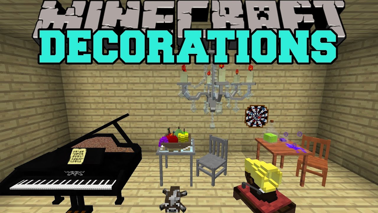 Minecraft: DECORATIONS (TOYS, FURNITURE, MUSICAL ...