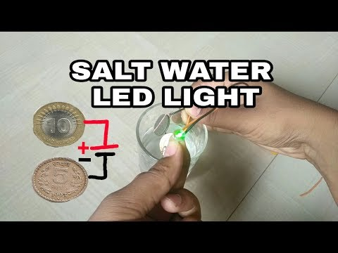 How to make salt water enargy light bulb used 10rs and 5rs coin | Technical somesh thumbnail