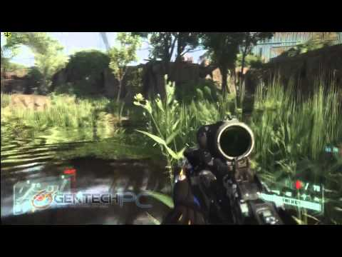 Crysis 3 Medium/High/Very High gaming performance test on MSI GT60 with nVidia GTX680M