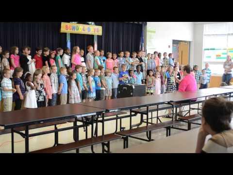 Kindergarten Graduation at Tye River Elementary School 2014