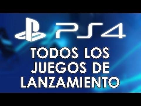 PlayStation 4: ¡Todos los juegos de lanzamiento! Lista completa