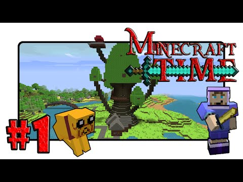 Minecraft: Adventure Time! Adventure Map - Ep.1 - Candy Kingdom Here I Come! video