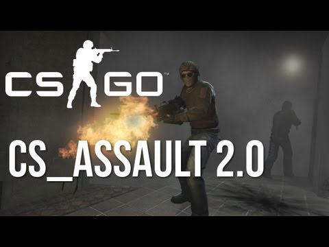 CS:GO UPDATE - Mapas Assault e Militia