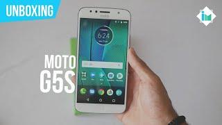 Motorola Moto G5S - Unboxing en español
