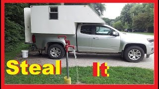 YouTuber's Teaching How To Steal Electric and Water RV Living Full Time / Van Life Nomad