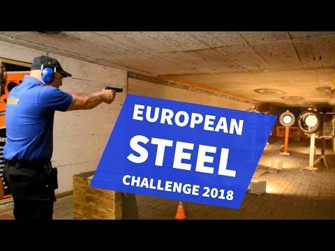 European Steel Challenge 2018: Sportschütze Tino Schmidt bei 6 unterschiedlichen Challenges