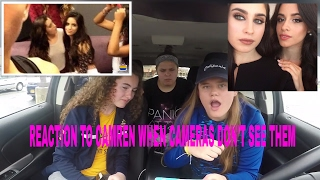Download Lagu REACTION TO CAMREN WHEN THE CAMERAS DON'T SEE THEM!!!! Gratis STAFABAND