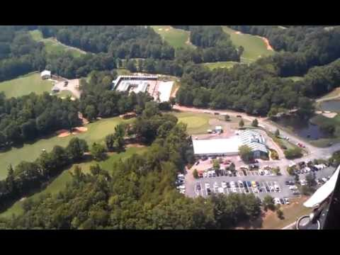 Helicopter Ride Over Gainesville State College