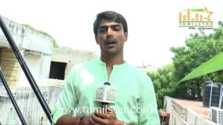 Arjun Chidambaram At Moone Moonu Varthai Movie Team Interview