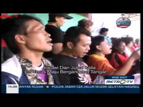 Mars Jokowi-JK Ciptaan Warga Sukoharjo