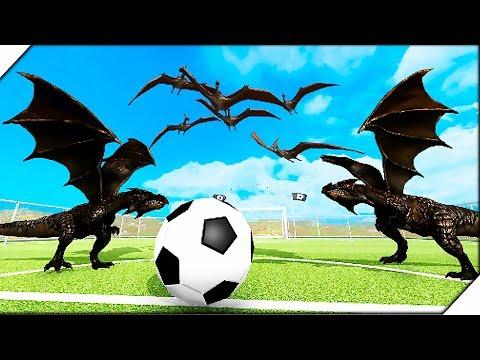 ЗВЕРИНЫЙ ФУТБОЛ - Игра Beast Battle Simulator. Битва динозавров