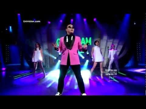 PSY - Gangnam Style, En Vivo Sabado Gigante, (Primera Vez en Latino TV) (12-8-12)
