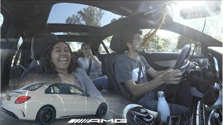 Mercedes-AMG C63S 2018 - Rider Reactions