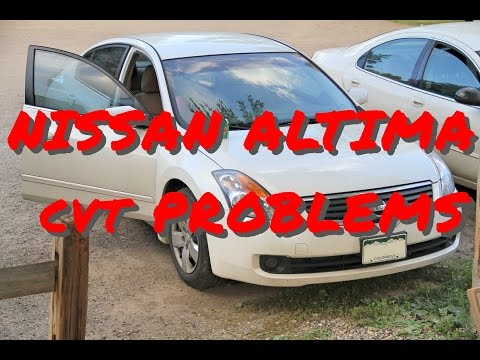 Nissan Altima CVT Whine and Limp Mode!