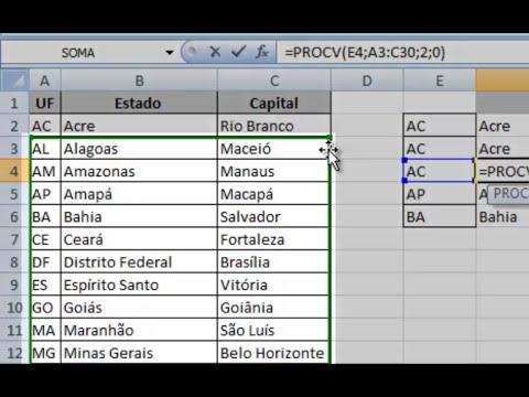 ProcV Excel - Como fazer um ProcV