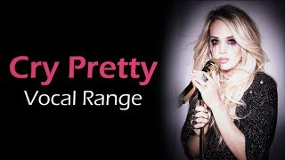 Download Lagu Carrie Underwood Cry Pretty Album Vocal Range (Eb3- G5- Bb5) Gratis STAFABAND