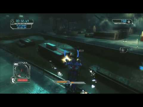 Transformers 2 - Revenge Of The Fallen - Optimus Prime Gameplay