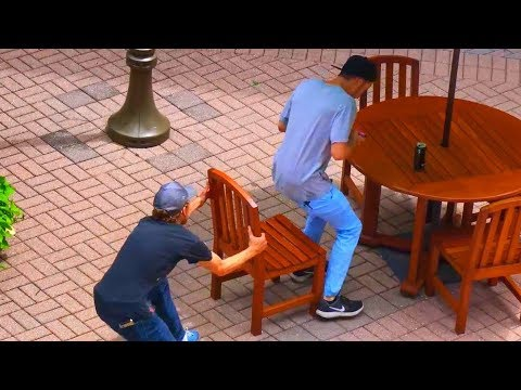 Ultimate 'Chair Pulling' Pranks Compilation - Funniest Public Pranks 2017