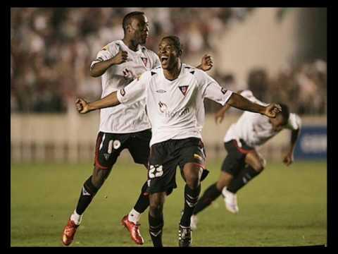 Liga de Quito Campeon de America 2008 narrado Radio la Red