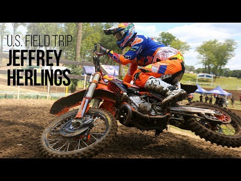 U.S. Field Trip - Jeffrey Herlings on Racing the Ironman AMA National
