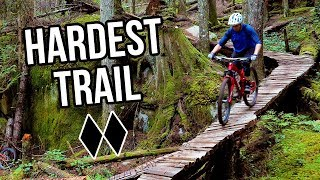 Trying to Ride the Hardest Bike Trail in Squamish