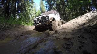 Defender Diaries: 4x4 off-road rc adventures Land Rover defender 90