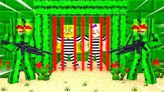 Der KAKTUS GEFÄNGNIS AUSBRUCH?! - Minecraft AUSBRUCH