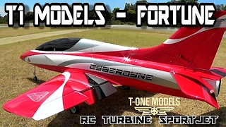 T1 FORTUNE RC TURBINE JET HD Maiden day