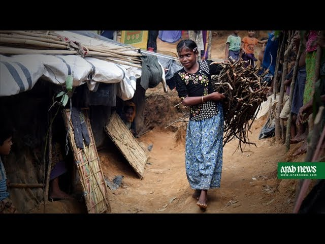 Childhoods lost as Rohingya kids fill their parents shoes