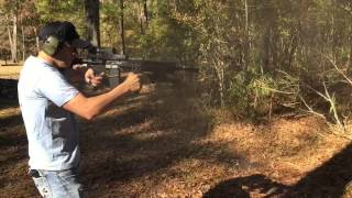 My M16 Full Auto in 240fps Slow-Mo