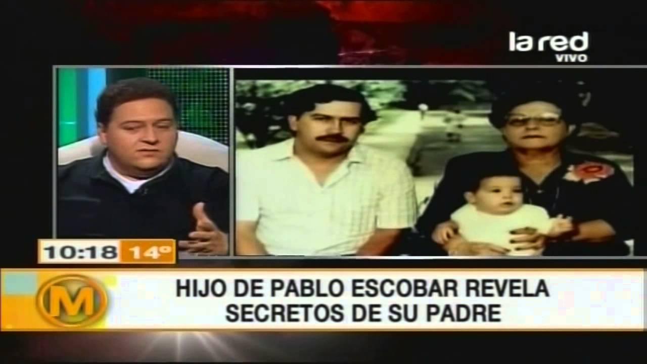 Pablo Escobar Y Su Familia >> El negocio del hijo de Pablo Escobar - YouTube