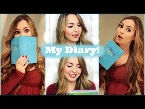 Reading My Old Diaries & Song Journal! First Love, Kiss & More | Jackie Wyers video