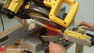 How to Square Up and Align a DeWalt DW708 Miter Saw 04:35