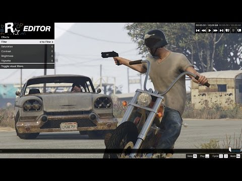 Grand Theft Auto V Pc - Rockstar Editor Official Introduction video