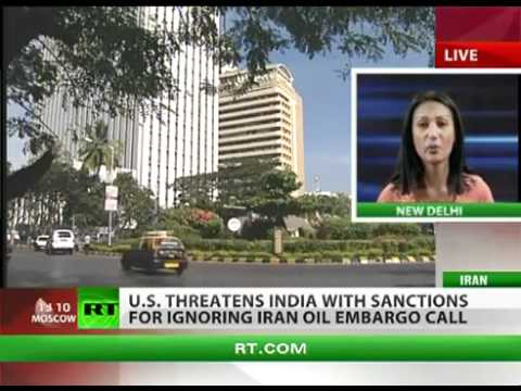 The US threatens India with sanctions for continuing to buy Iranian oil