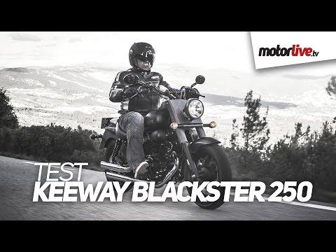 TEST   KEEWAY BLACKSTER 250