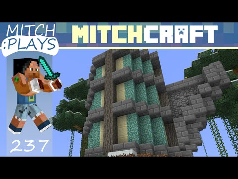 Wizard's Tower Arms - Mitch Plays Minecraft - Ep 237 (1080p HD Gameplay)