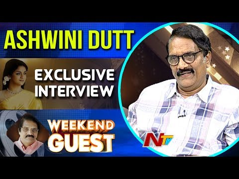 Producer Ashwini Dutt Exclusive Interview on Mahanati Movie || Weekend Guest || NTV