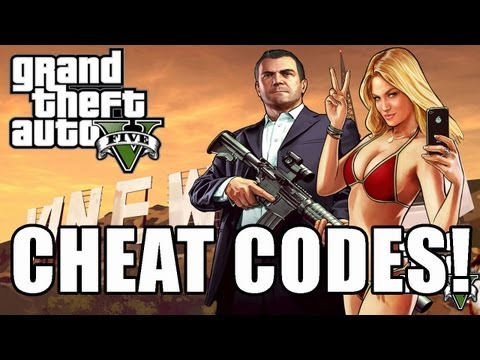GTA 5 Cheat Code Full List - PS3 and Xbox 360 (GTA V Cheats) by ...