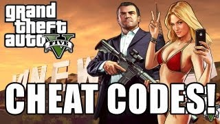 GTA 5 Cheat Code Full List - PS3 and Xbox 360 (GTA V Cheats)