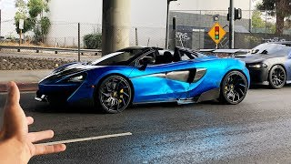 SOMEBODY CRASHED INTO MY BRAND NEW MCLAREN! *UNBELIEVABLE*