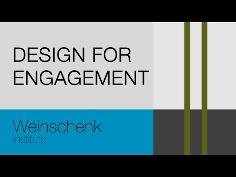 Design For Engagement Online Video Course Introduction